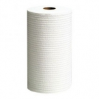 Kimtuf White Teri Reinforced Wiper 13.4'' Roll