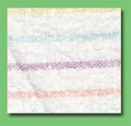 Light Coloured Flannel Cloth Wipes  - 25lb